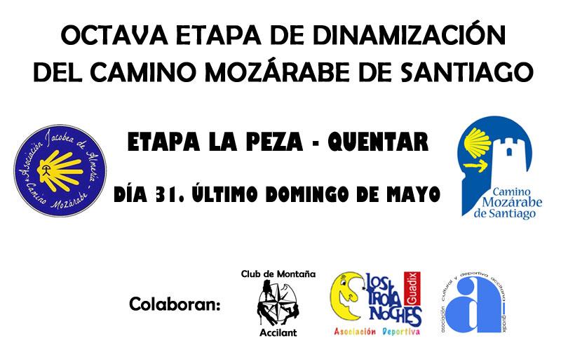 Octava Etapa Dinamización del Camino Mozárabe de Santiago