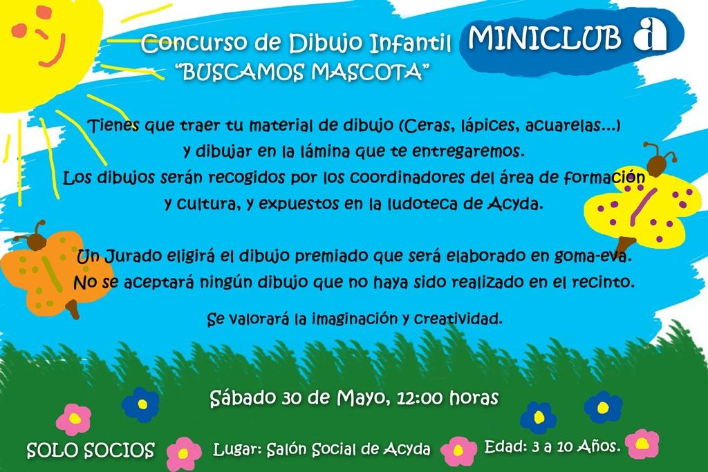 Concurso de Dibujo Infantil - Miniclub Acyda