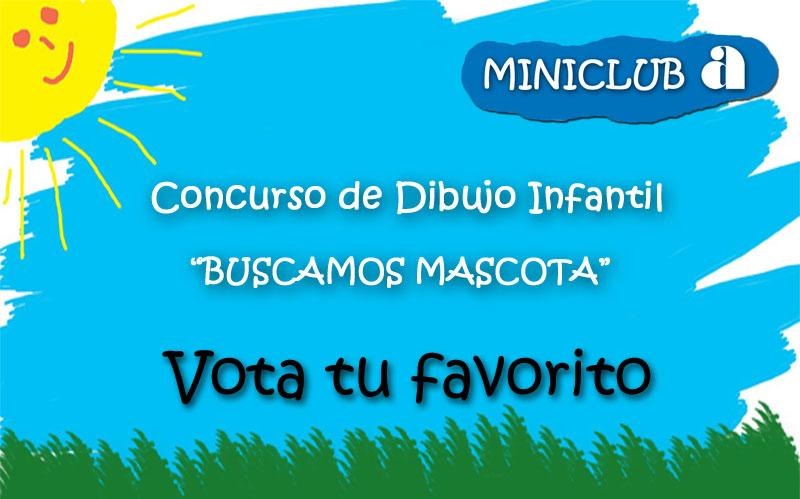 Votación Buscamos Mascota Miniclub