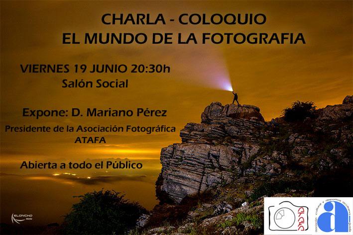 Charla Coloquio Fotografía - Acyda y ATAFA