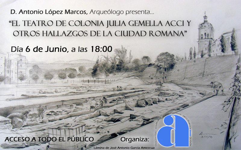 Charla Coloquio Hallazgos Romanos - Guadix