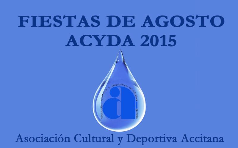 Programa Fiesta de Acyda 2015