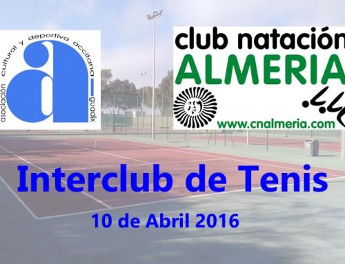 Interclub de Tenis. CN Almería vs Acyda.