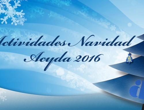 Actividades Navidad Acyda 2016